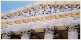 Photograph of U.S. Supreme Court facade